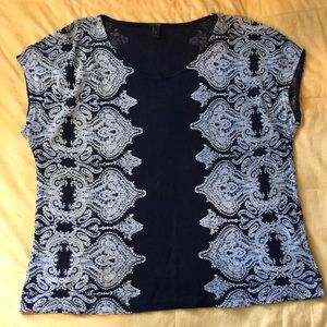 Jcrew top with cute design. Size S